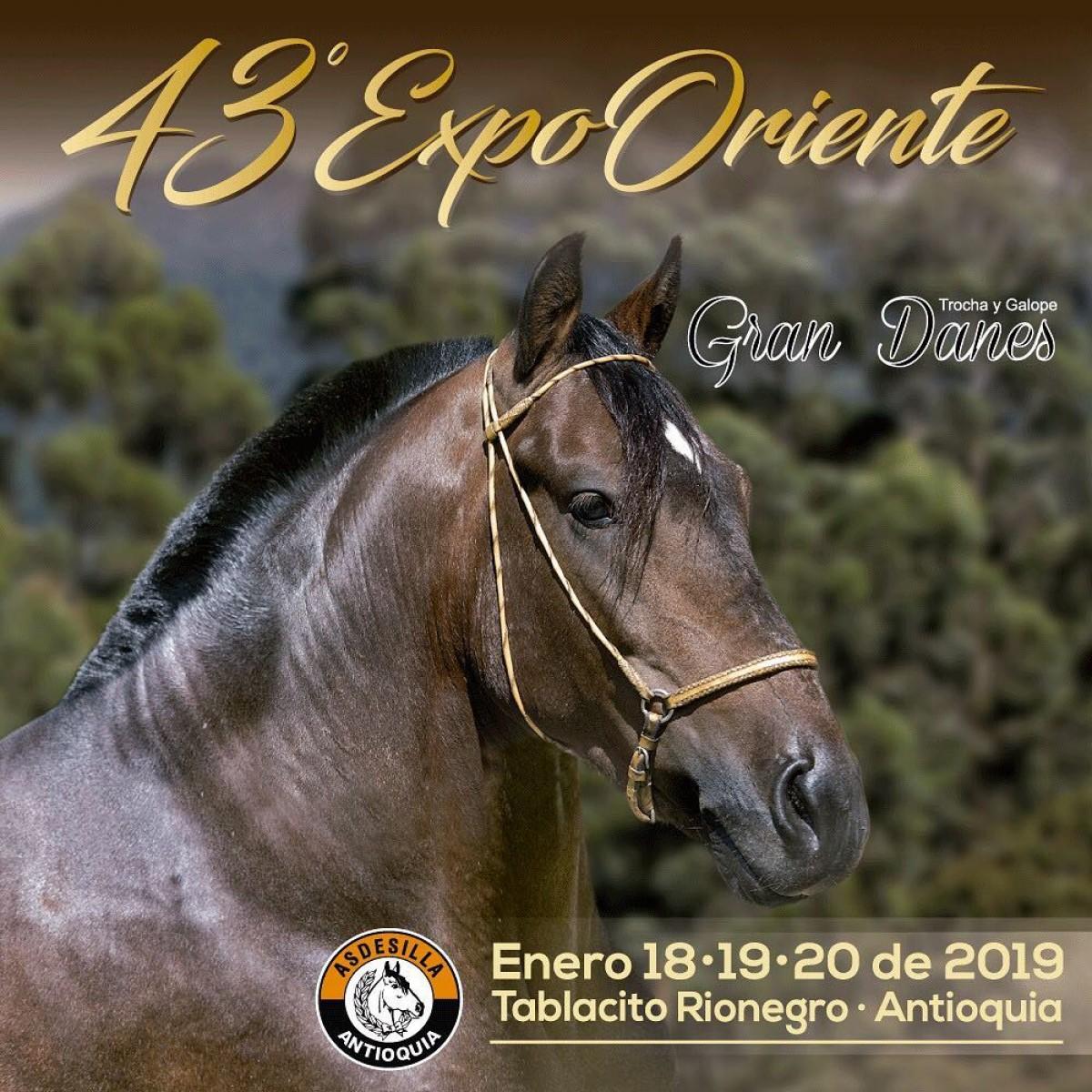TRANSMISIÓN 43a ExpoOriente Grado A, Asdesilla, del 18 al 20 de Enero