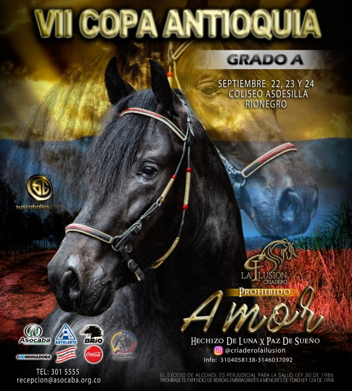 TRANSMISIÓN VII Copa Antioquia - Asocaba Del 22 Al 24 De Septiembre 2017