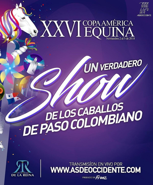 XXVI Copa América Equina Del 2 Al 5 De Noviembre del 2018