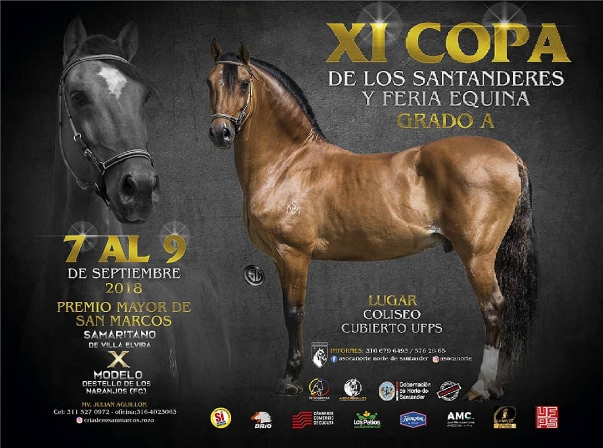 TRANSMISIÓN XI Copa De Los Santanderes, Cúcuta Del 7 Al 9 De Septiembre