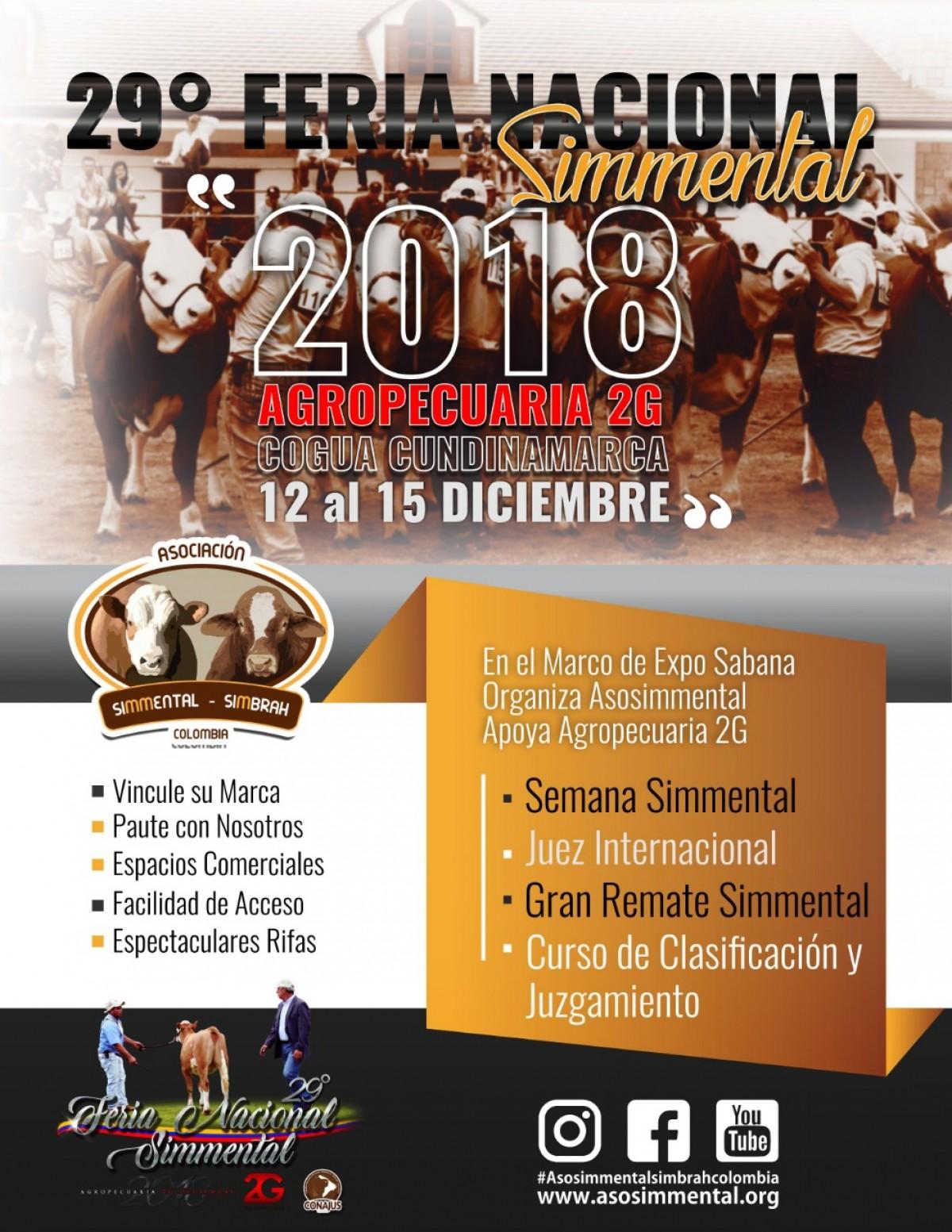 TRANSMISIÓN 29 Feria Nacional Simmental, 14 y 15 De Diciembre 2018