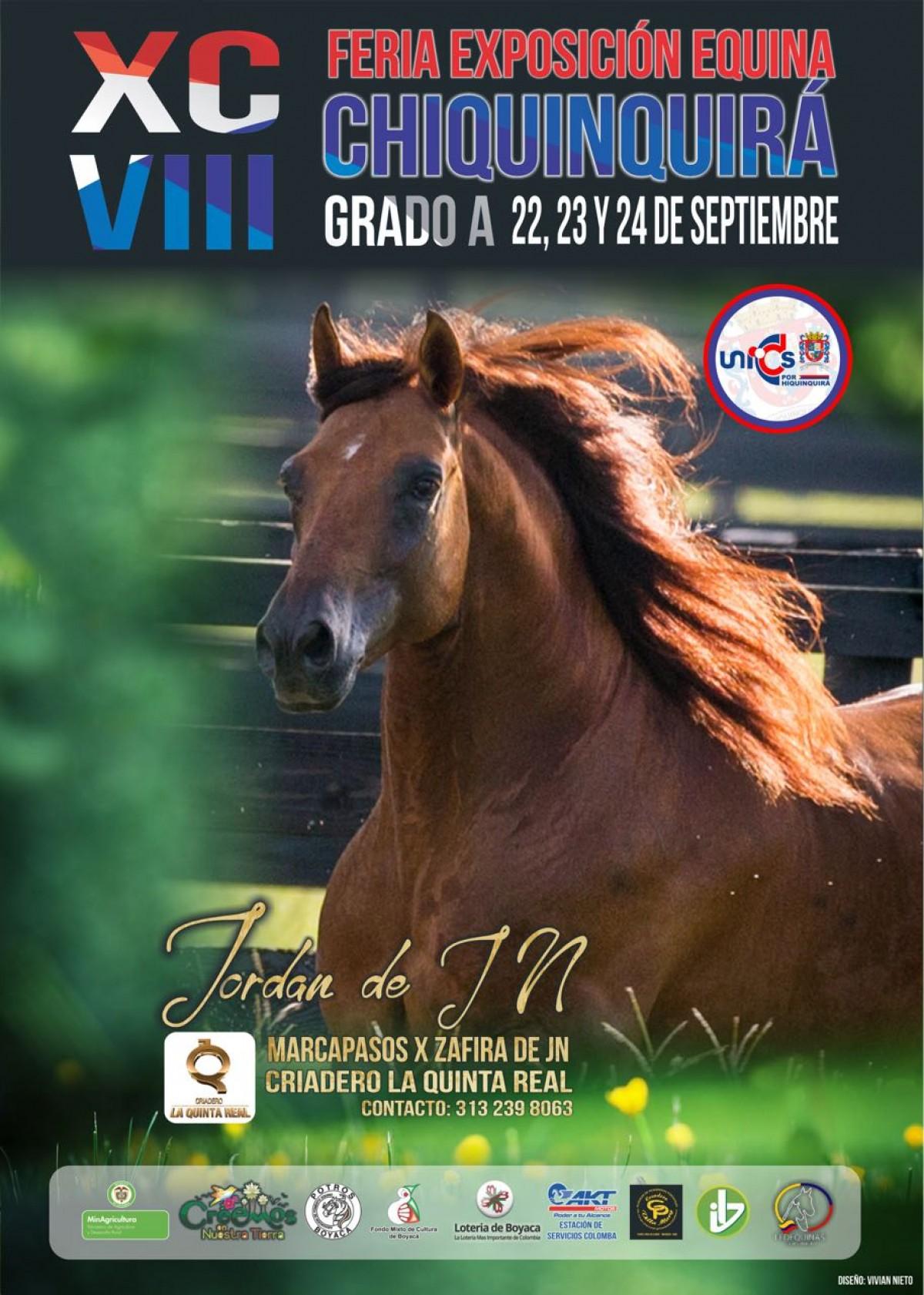 TRANSMISIÓN XCVIII Feria Exposición Equina Chiquinquirá Grado A, 22 Al 24 De Septiembre
