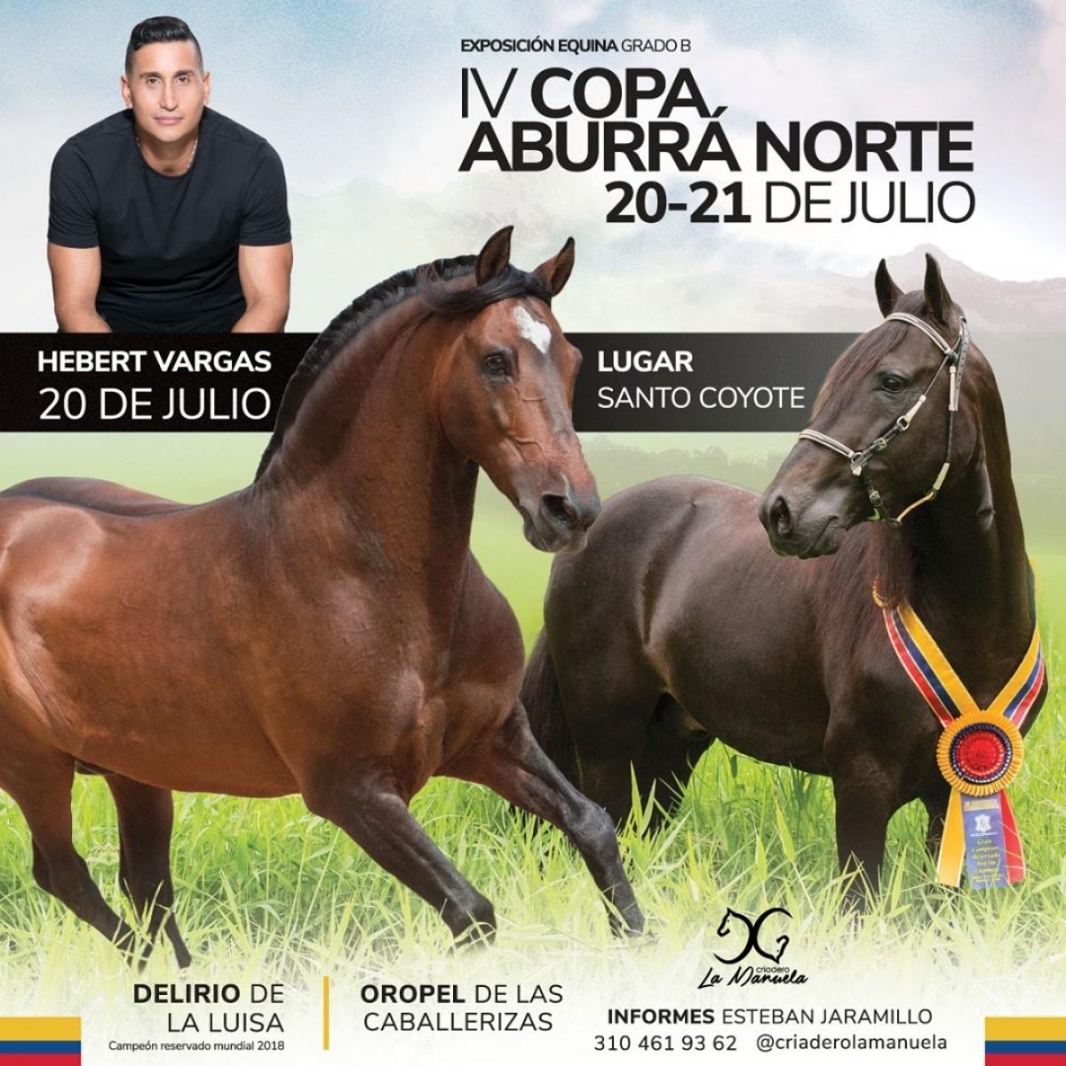 IV Copa Aburrá Norte Grado B- Asocaba 20 y 21 de Julio