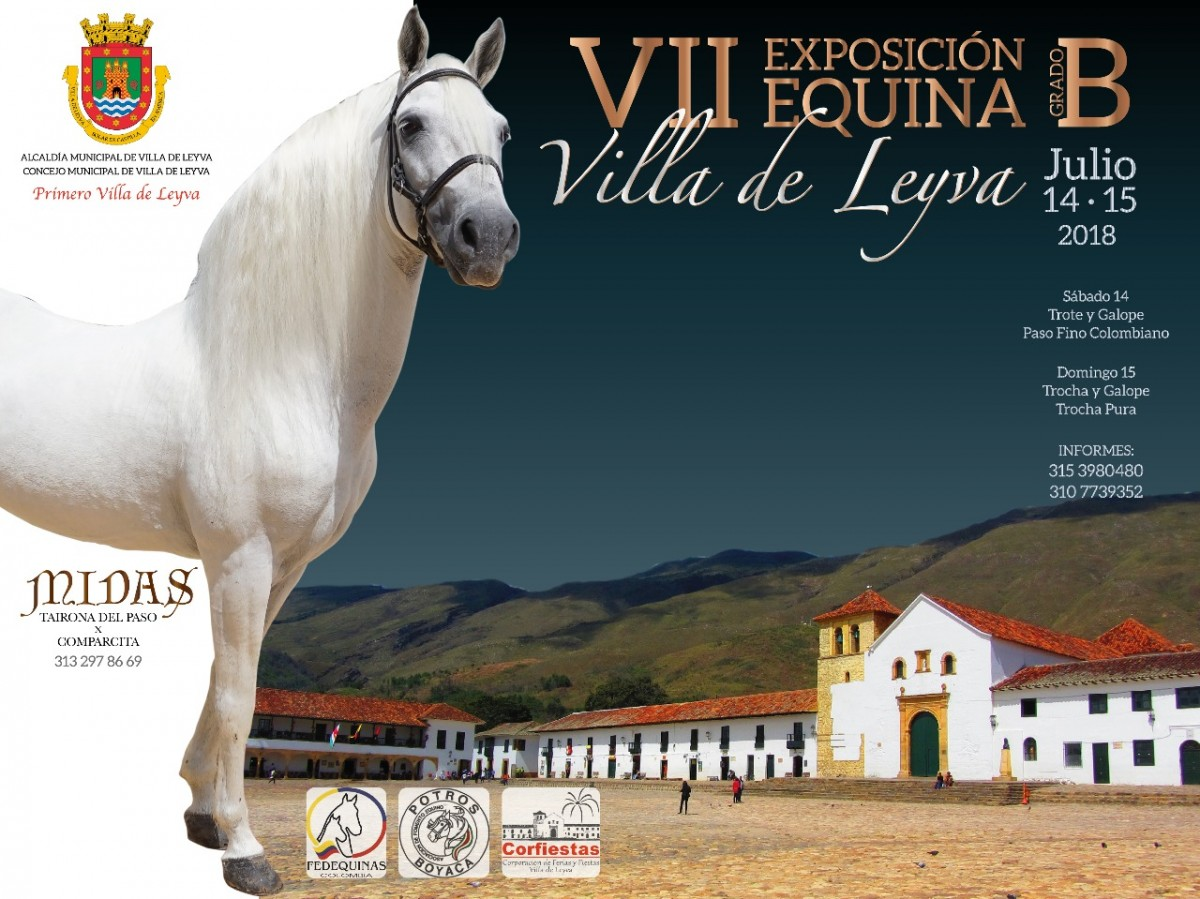 RESULTADOS VII Exposición Equina Grado B, Villa De Leyva 2018 - TROCHA Y GALOPE