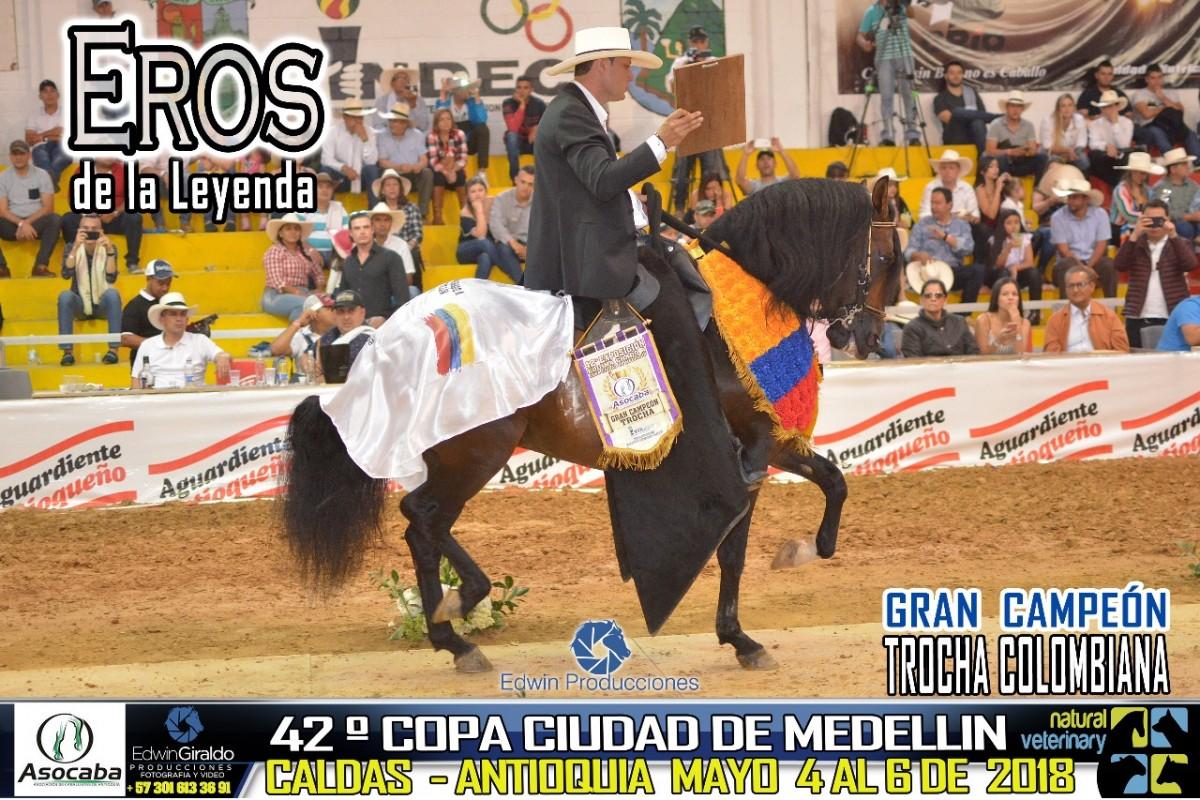 RESULTADOS 42 Copa Ciudad de Medellín Grado A, Asocaba - TROCHA COLOMBIANA