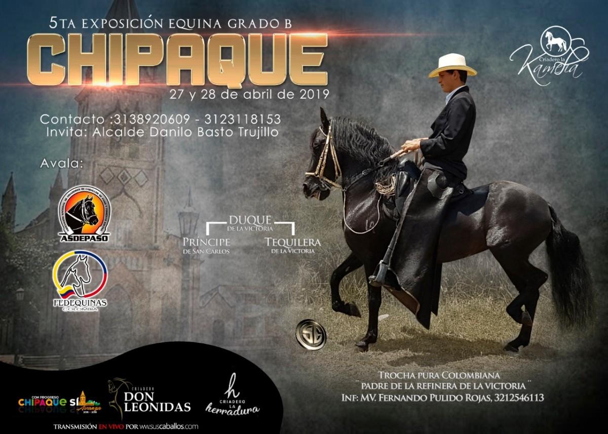 RESULTADOS 5ta Exposición Equina Grado B Chipaque 2019 - TROCHA COLOMBIANA