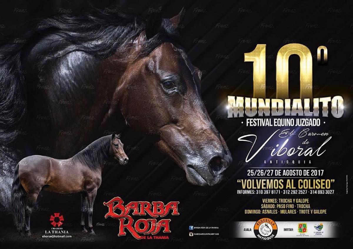 10ª Mundialito Festival Equino Juzgado - 25 Al 27 De Agosto