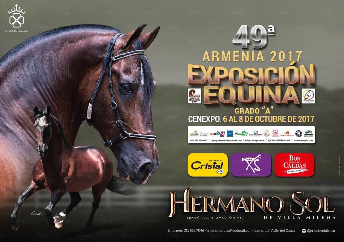 RESULTADOS 49a Exposición Equina Grado A, Armenia - TROCHA COLOMBIANA