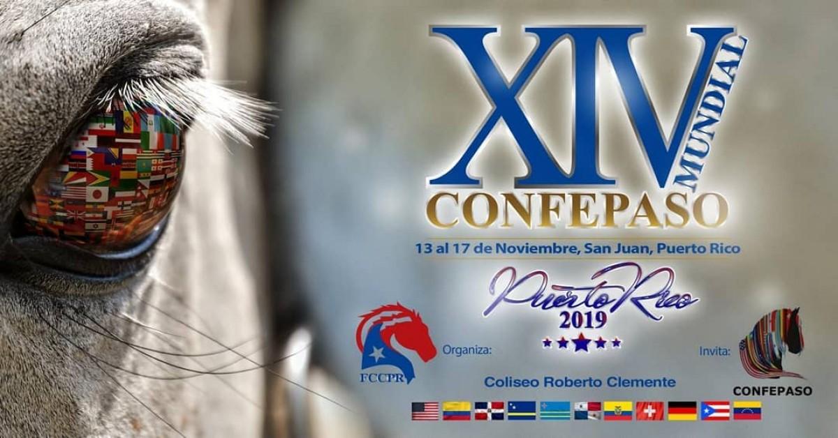 La XIV MUNDIAL Será en Puerto Rico, del 13 al 17 de Noviembre.
