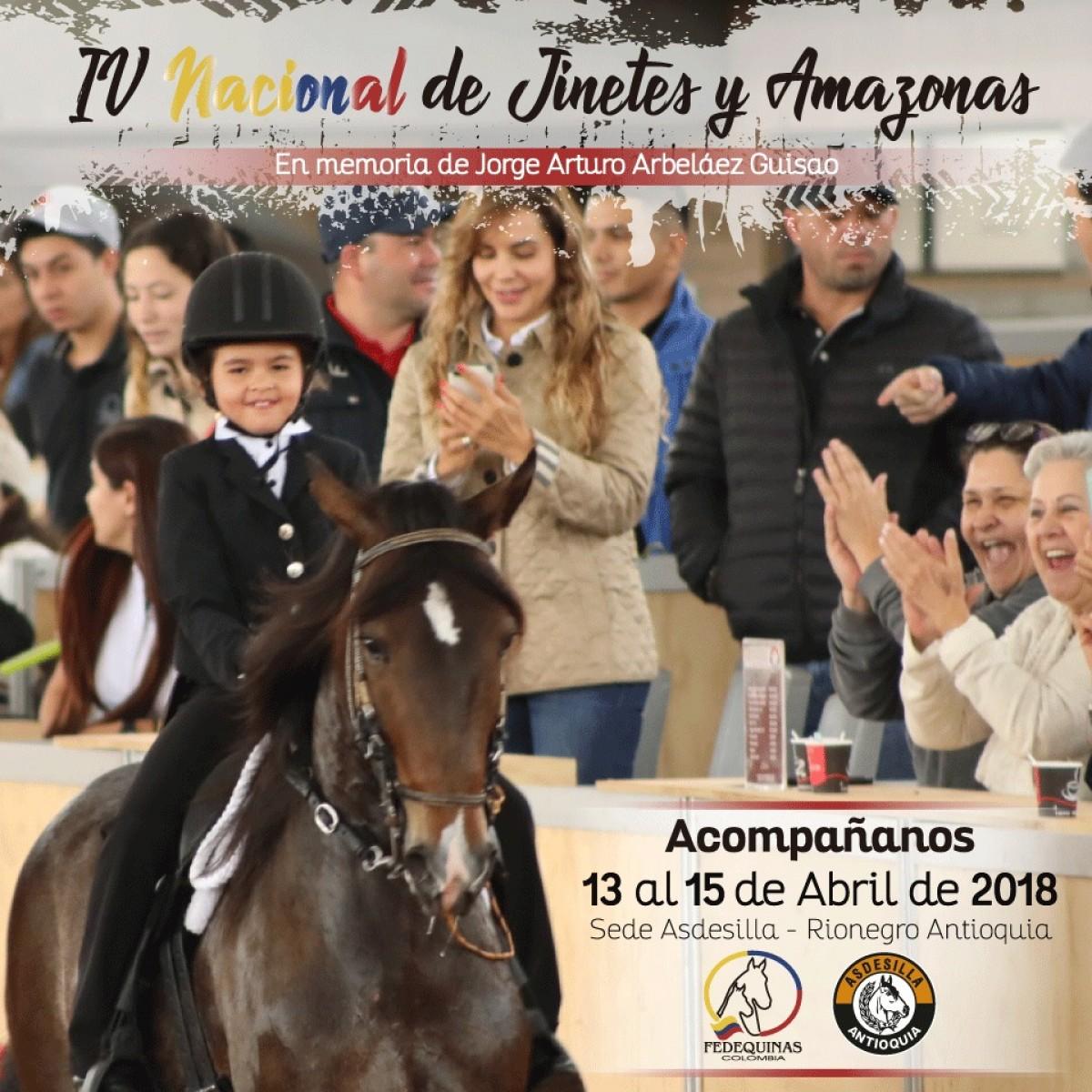 IV Nacional De Jinetes Y Amazonas Del 13 Al 15 De Abril