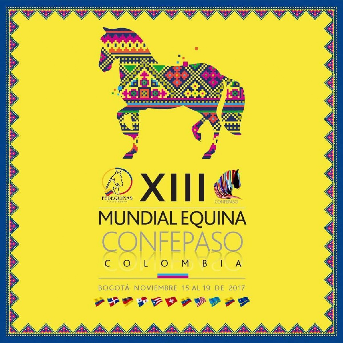 COMUNICADO CONFEPASO Sobre la XIII MUNDIAL EQUINA 2017