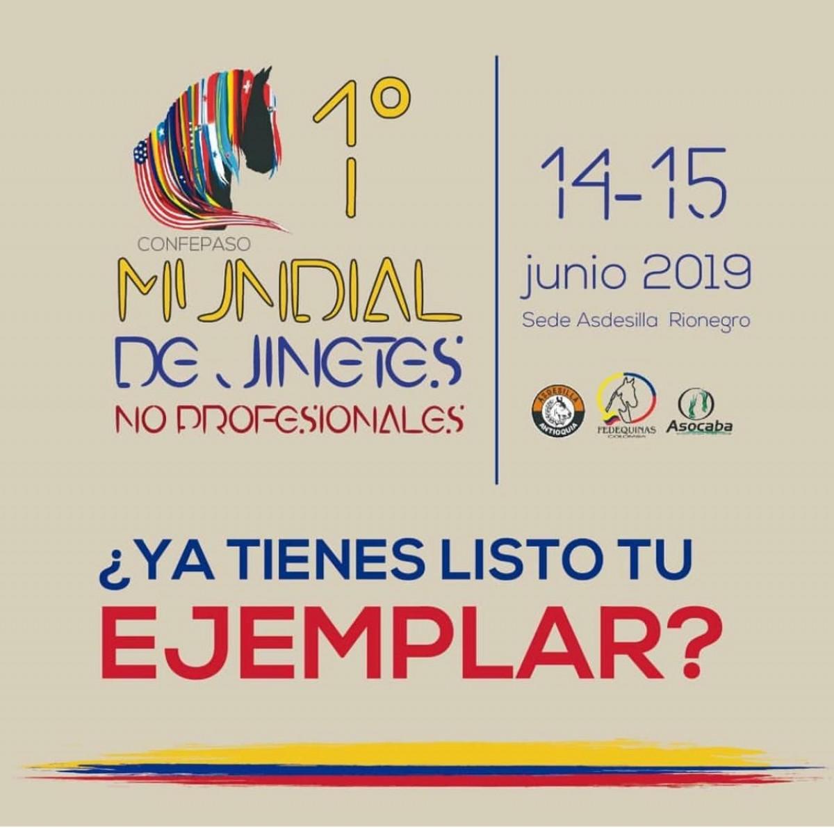 1ra Mundial De Jinetes No Profesionales, 14 y 15 de Junio