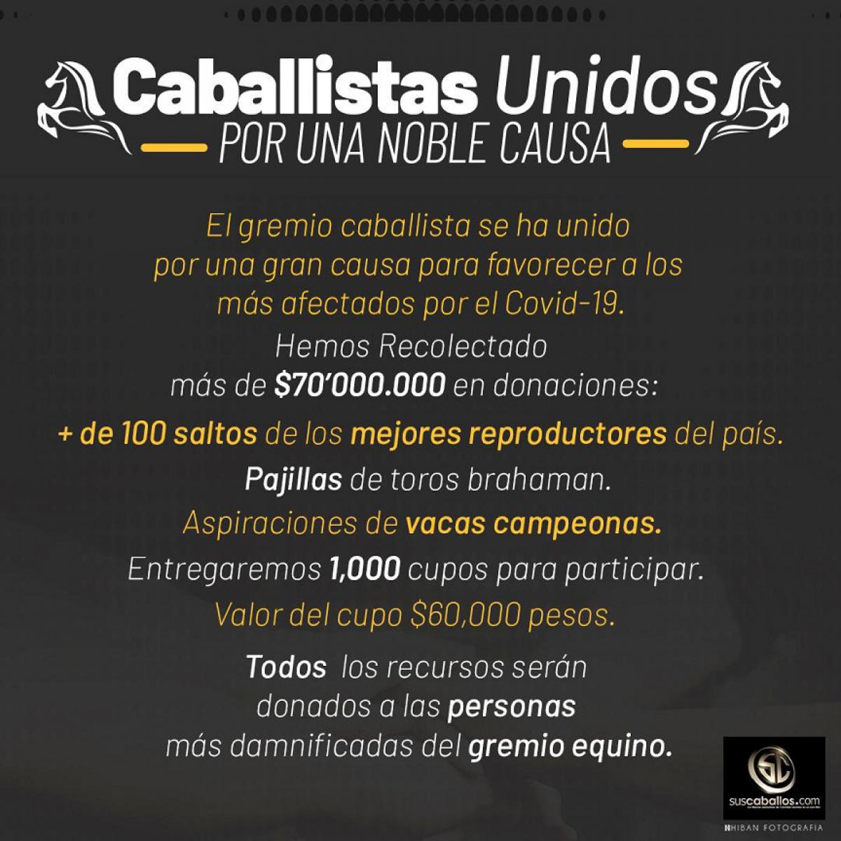 CABALLISTAS UNIDOS POR UNA NOBLE CAUSA