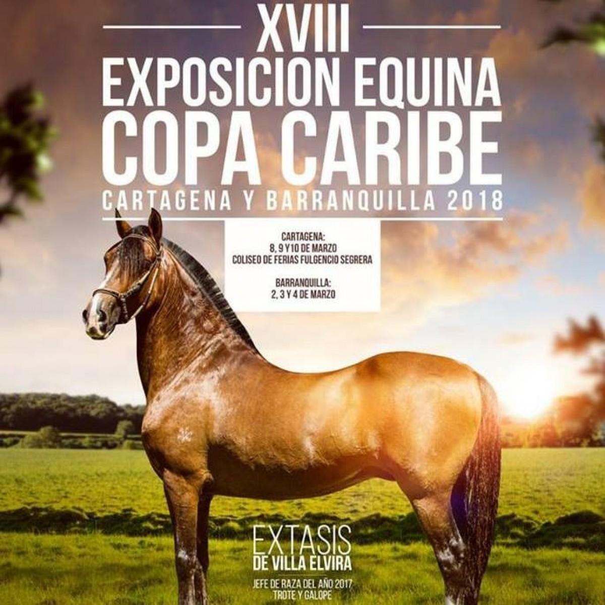 RESULTADOS XVIII Exposición Equina Copa Caribe Cartagena 2018 - TROCHA COLOMBIANA