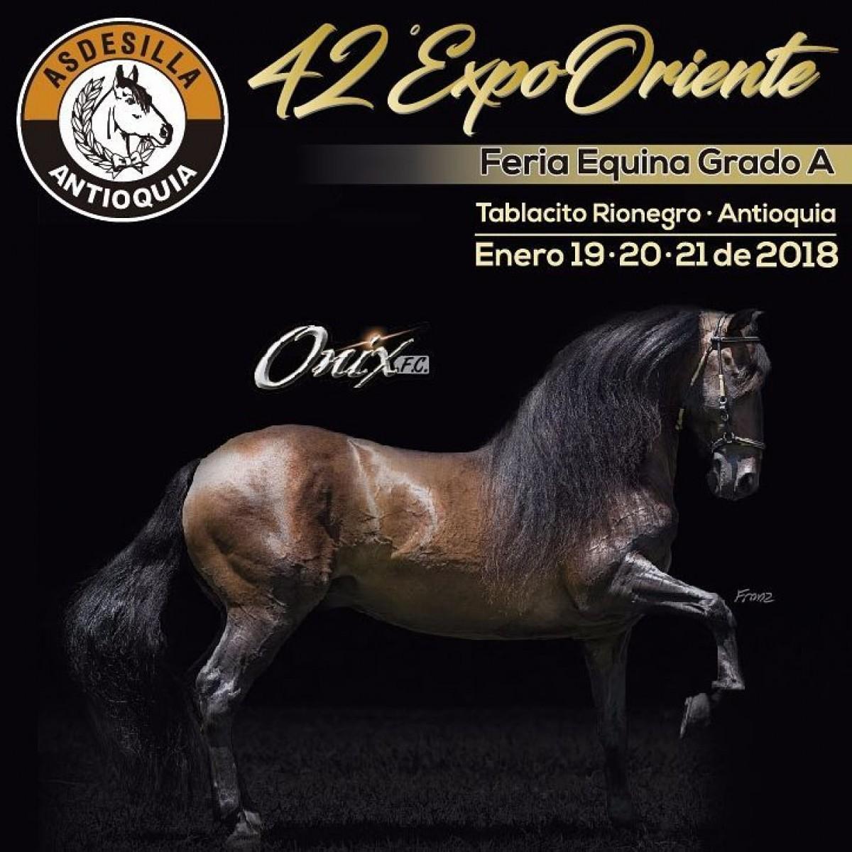 TRANSMISIÓN 42a ExpoOriente Feria Equina Grado A - Asdesilla, 19 al 21 Enero