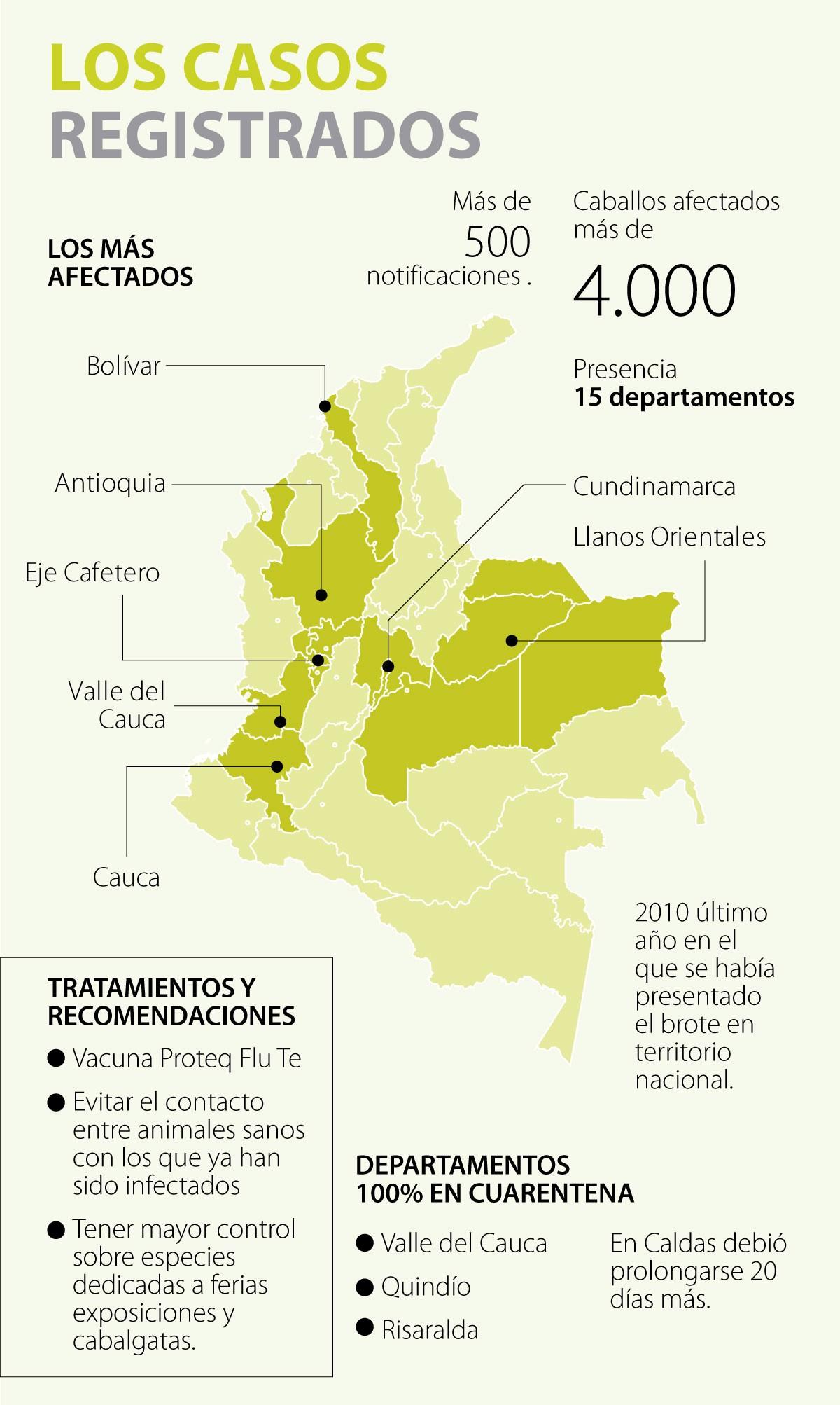 Influenza Equina En Colombia Está 99% Controlada Según Autoridades