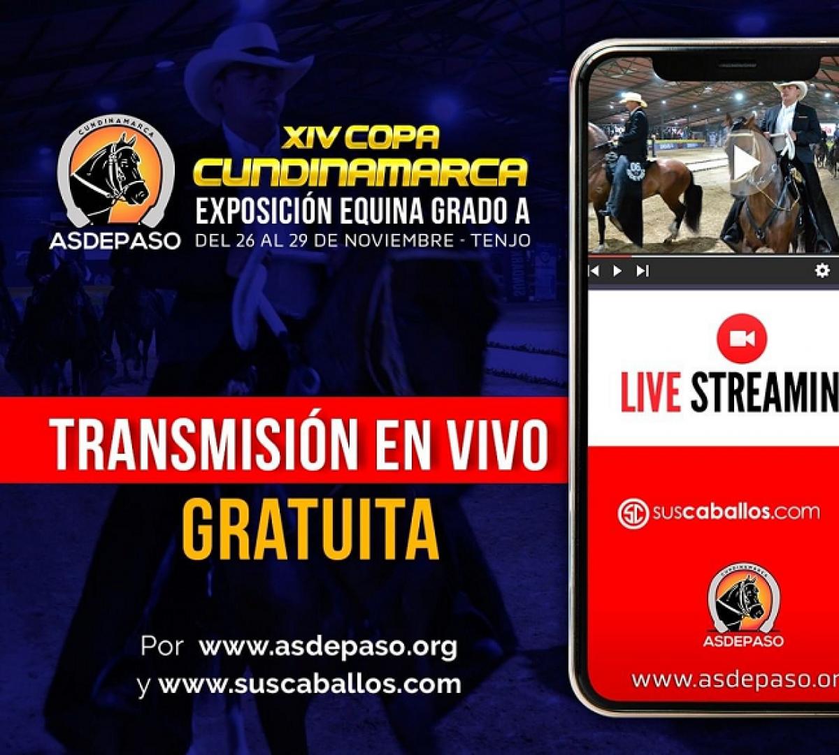 Copa Cundinamarca Asdepaso 2020 - Transmisión Gratuita por Suscaballos.com