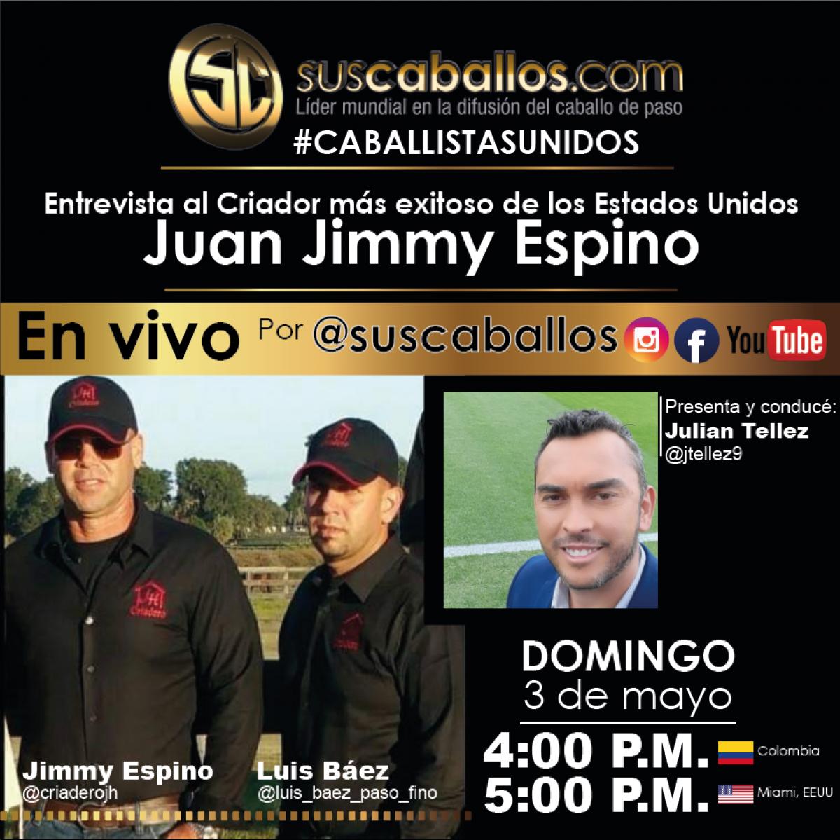 Entrevista al criador más exitoso de los EEUU, Jimmy Espino