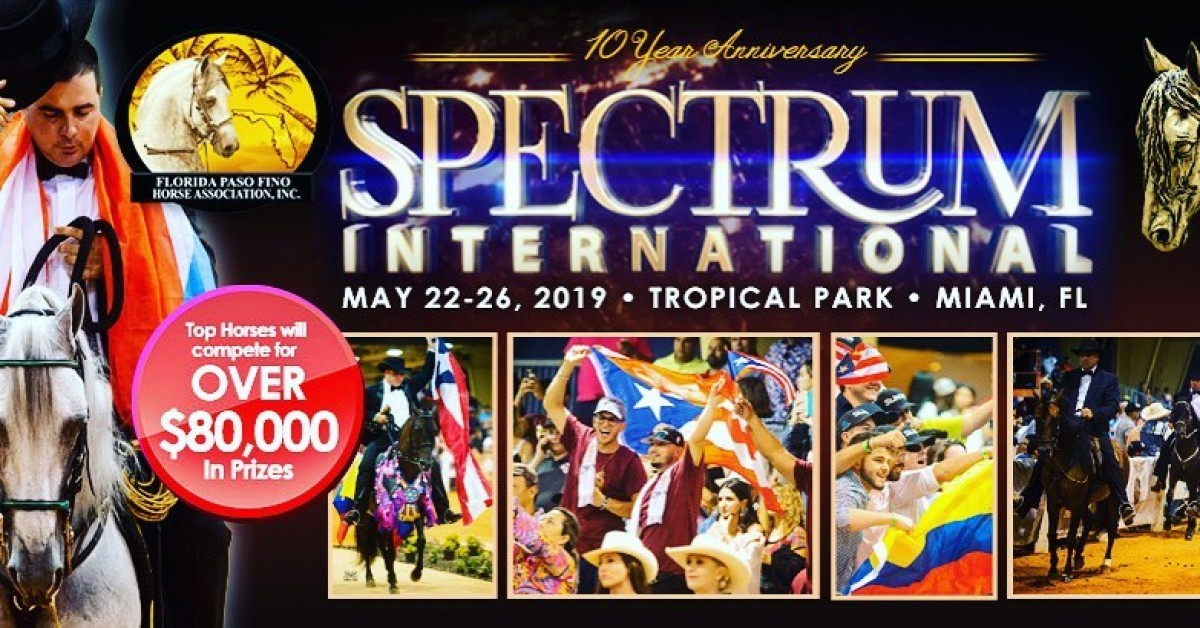 Programa Tu Agenda Para El Spectrum International 2019!!!