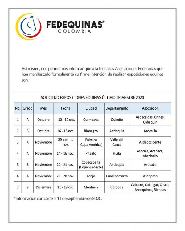 http://www.suscaballos.com/Comunicado de la Federación al Gremio en general