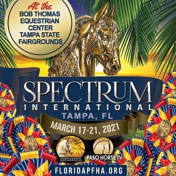 http://www.suscaballos.com/ Spectrum 2021 Agéndate desde ya para Tampa, FL del 17 al 21 de Marzo