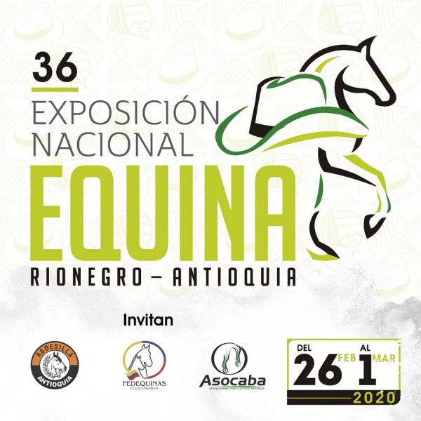 http://www.suscaballos.com/Prográmate Para La 36 Exposición Equina Nacional 2020