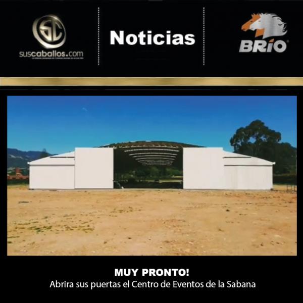 http://suscaballos.com/Gran Noticia para el gremio equino de la Sabana de Bogotá, muy pronto abrirá las puertasCENTRO DE EVENTOS DE LA SABANA