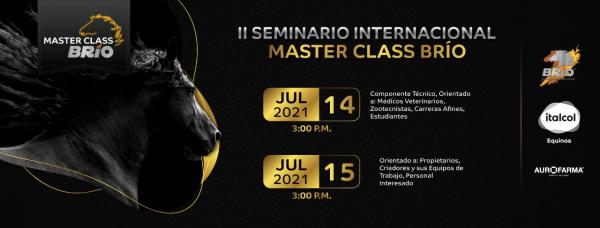 https://suscaballos.com/II SEMINARIO INTERNACIONAL MASTER CLASS BRÍO 2021