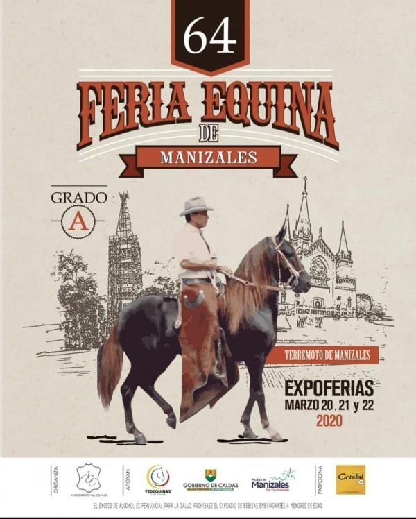 http://suscaballos.com/No te Pierdas La 64 Exposición Equina Grado A Manizales, Marzo 20 al 22