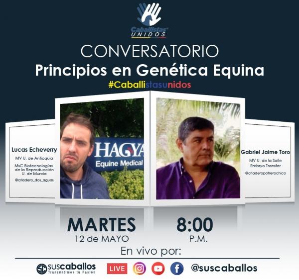 http://suscaballos.com/Conversatorio Principios en Genética Equina