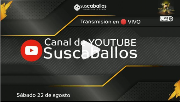 http://suscaballos.com/Transmisión COPA MUNDIAL BRÍO este 22 de agosto - Canal de Youtube de Suscaballoss