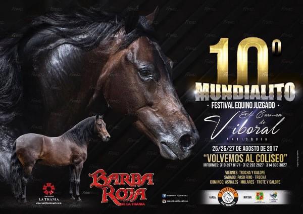 http://www.suscaballos.com/10ª Mundialito Festival Equino Juzgado - 25 Al 27 De Agosto