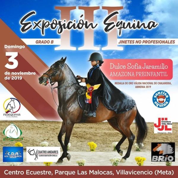 http://www.suscaballos.com/III Exposición Equina Grado B Jinetes No Profesionales, 3 Noviembre, Malocas