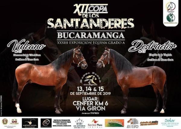 http://suscaballos.com/TRANSMISIÓN XII Copa de los Santanderes - Bucaramanga Del 13 al 15 de Septiembre
