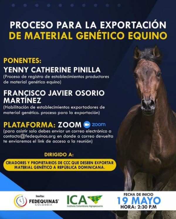 https://suscaballos.com/PROCESO PARA LA EXPORTACIÓN DE MATERIAL GENÉTICO EQUINO
