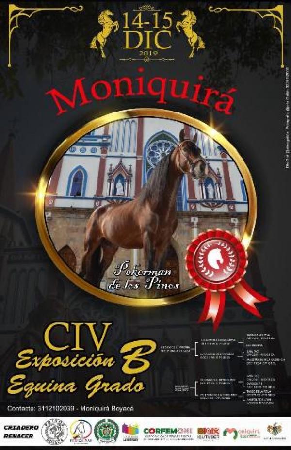 http://suscaballos.com/TRANSMISIÓN CIV Exposición Equina Grado B Moniquirá - Boyacá, 14 y 15 Diciembre