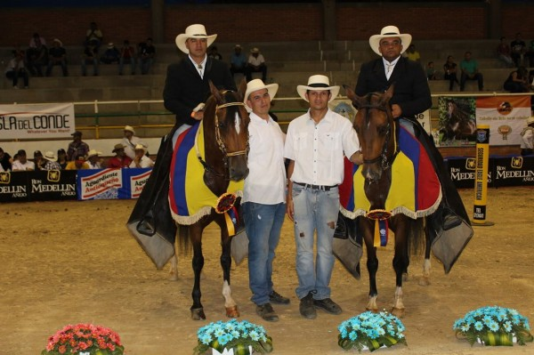 http://www.suscaballos.com/Dolla Bella De Tierra Nueva  Y Galáctico de Riobamba  Los Grandes Campeones De La Trocha Y Galope, Cucutà 2017