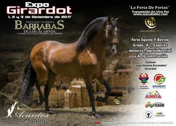 http://suscaballos.com/RESULTADOS Expo Girardot Grado A 2017 - TROCHA COLOMBIANA !!