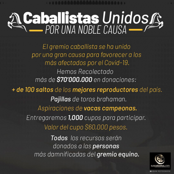 http://suscaballos.com/CABALLISTAS UNIDOS POR UNA NOBLE CAUSA