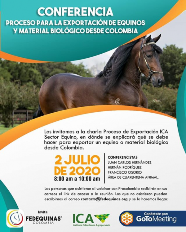 http://suscaballos.com/Proceso de Exportación ICA Sector Equino