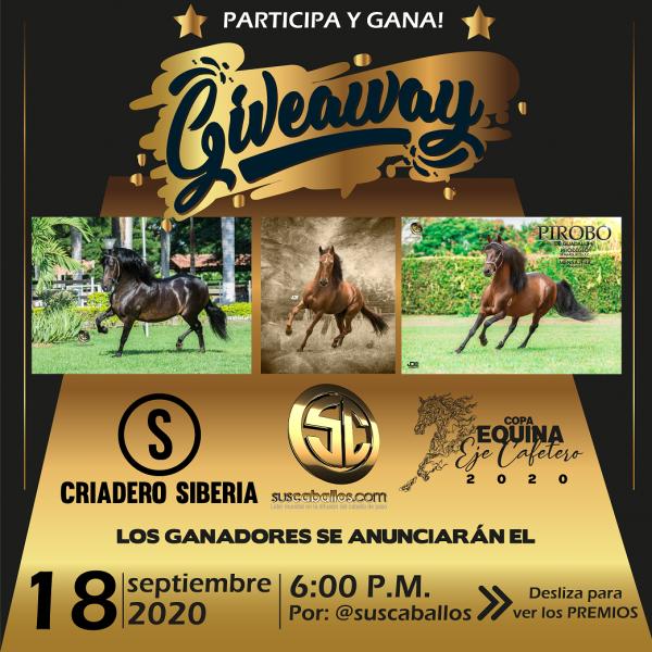 http://suscaballos.com/GIVEAWAY  - Para los amantes del Caballo Criollo Colombiano