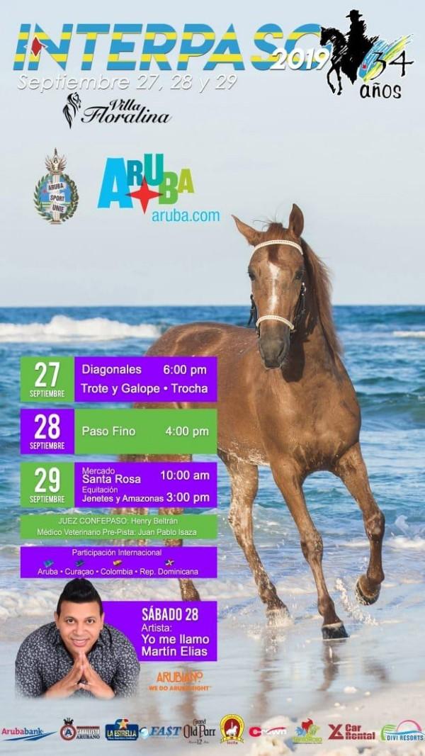 http://suscaballos.com/No Te Pierdas El Cubrimiento de Interpaso Aruba Del 27 al 29 de Septiembre
