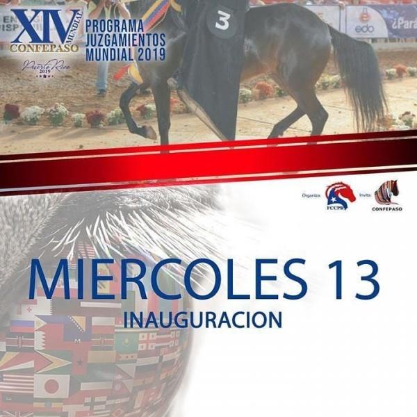 http://www.suscaballos.com/Programación XIV Mundial Confepaso, 14 al 17 de Noviembre, Puerto Rico