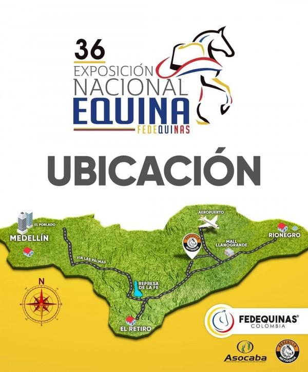 http://www.suscaballos.com/Sabes cómo llegar a la sede donde se realizará la 36 Exposición Nacional Equina