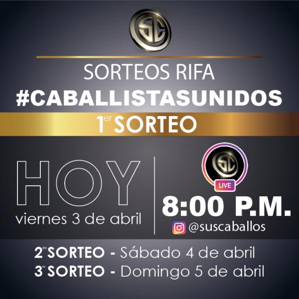 http://suscaballos.com/HOY 1er SORTEO RIFA #caballistasunidos